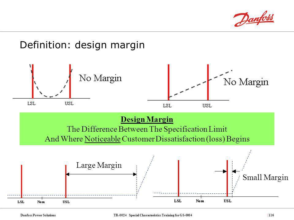 Definition: design margin