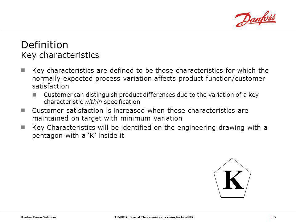 Definition Key characteristics