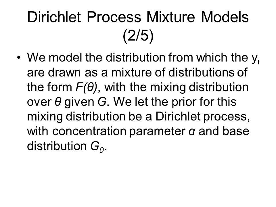 Dirichlet Process Mixture Models (2/5)