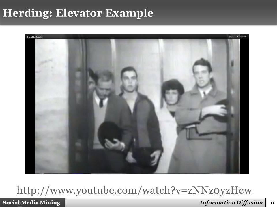 Herding: Elevator Example