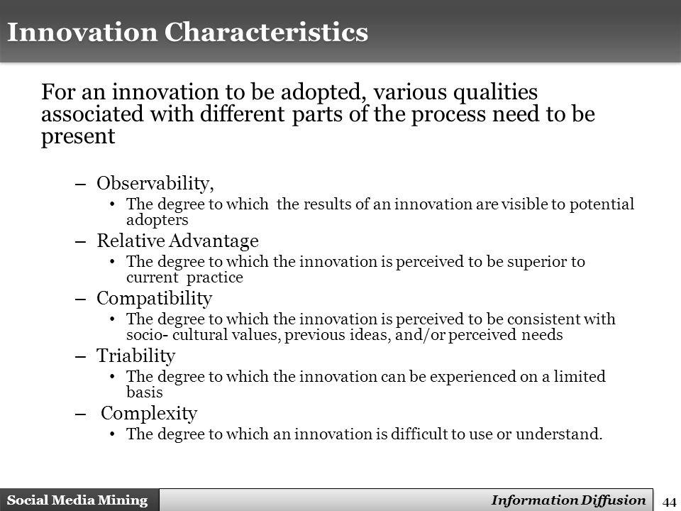 Innovation Characteristics