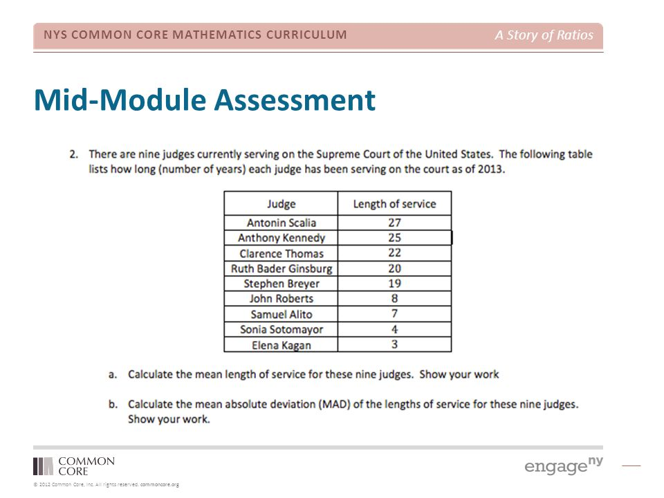 Mid-Module Assessment