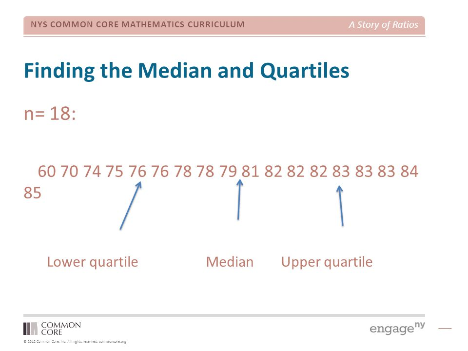 Finding the Median and Quartiles