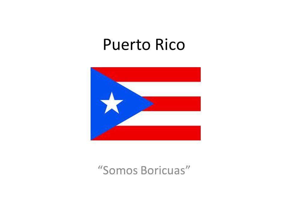 Puerto Rico Somos Boricuas