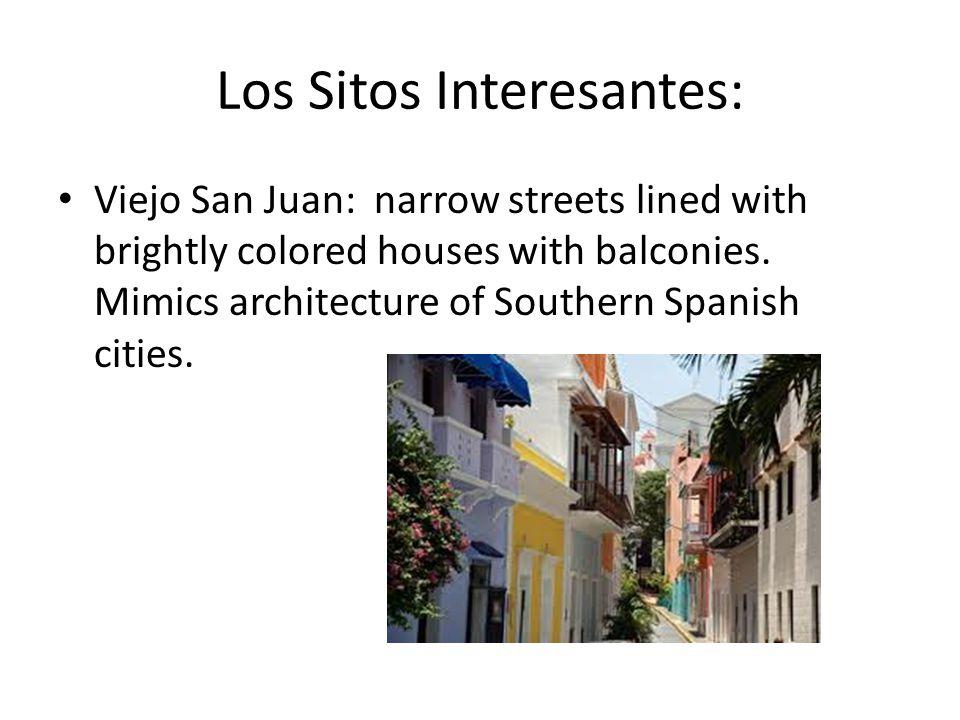 Los Sitos Interesantes: