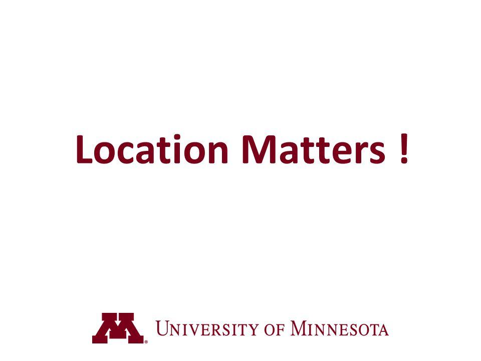 Location Matters ! 2 sec