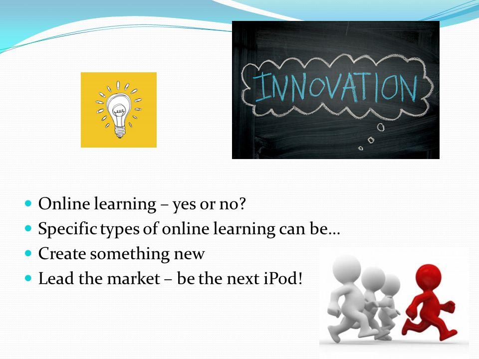 Online learning – yes or no