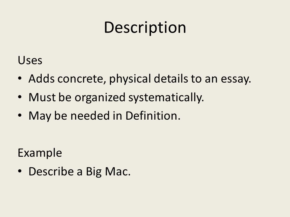 Geography of the big mac essay