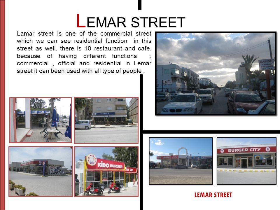 LEMAR STREET LEMAR STREET