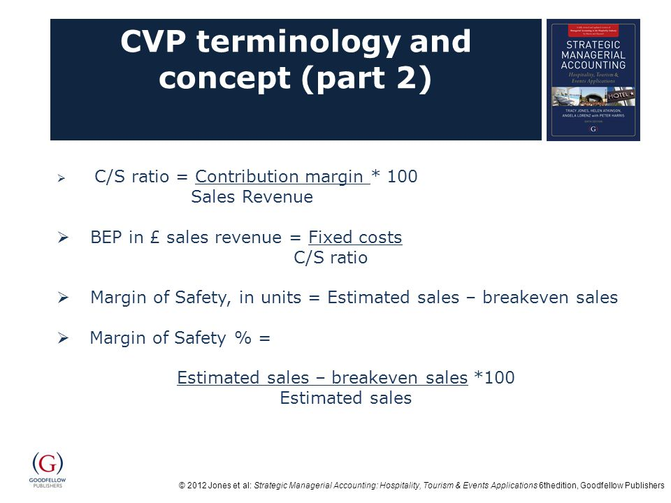 CVP terminology and concept (part 2)