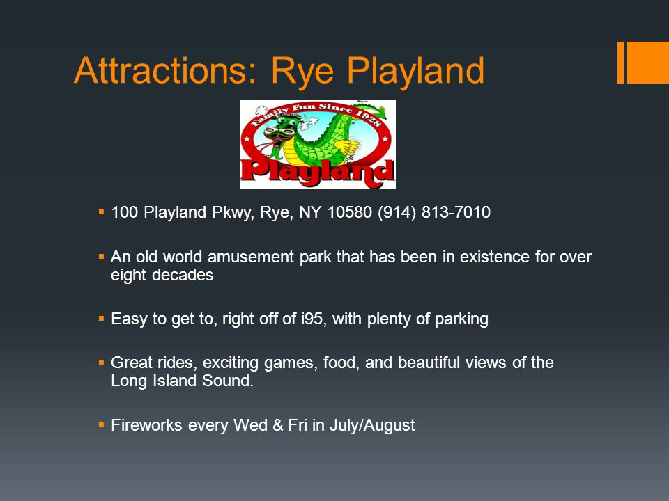 Attractions: Rye Playland