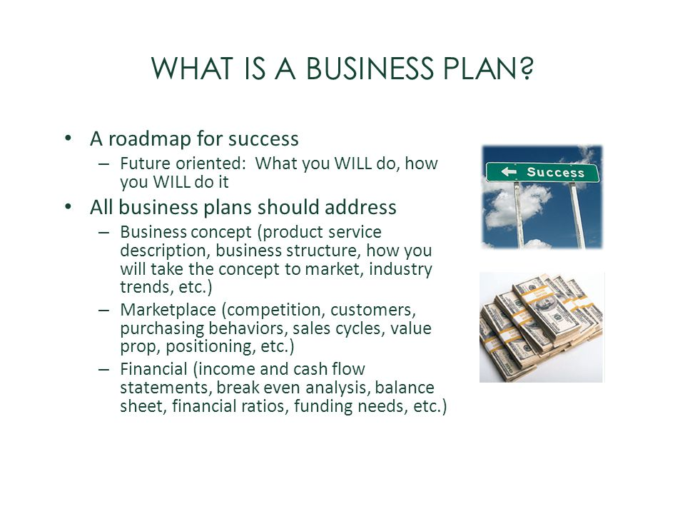 WHAT IS A BUSINESS PLAN A roadmap for success