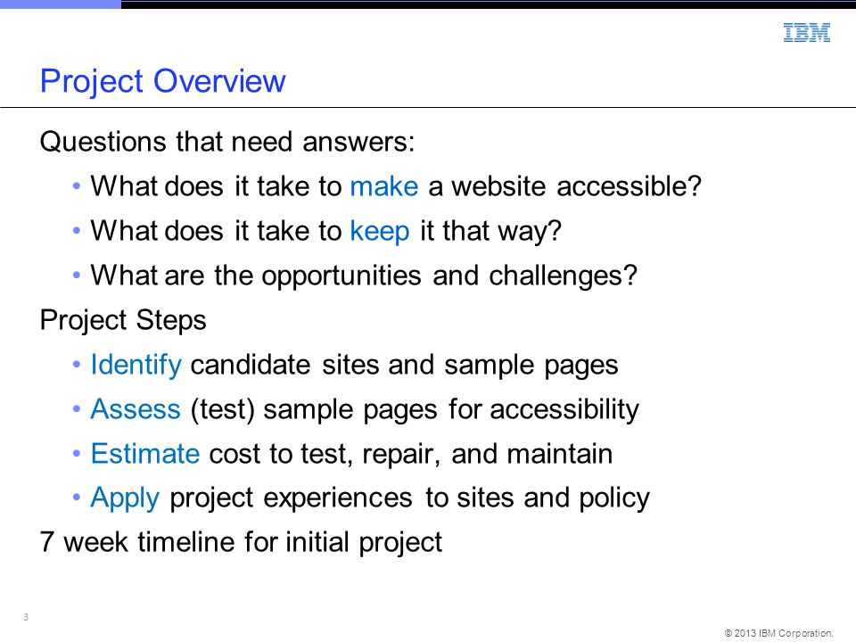 Project Overview Questions that need answers: