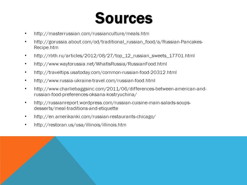 Sources http://masterrussian.com/russianculture/meals.htm