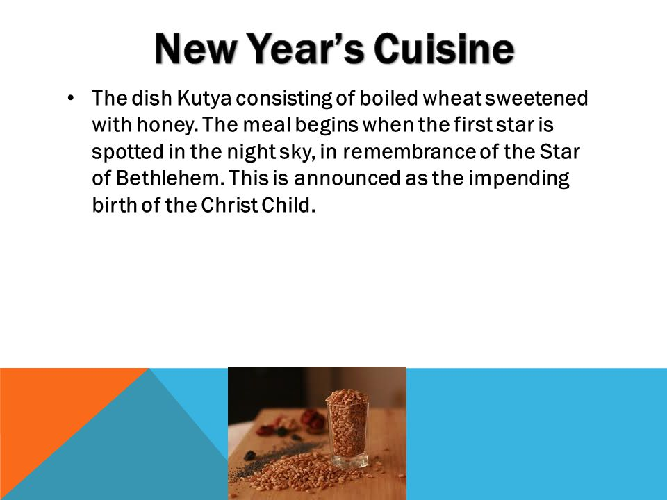 New Year's Cuisine