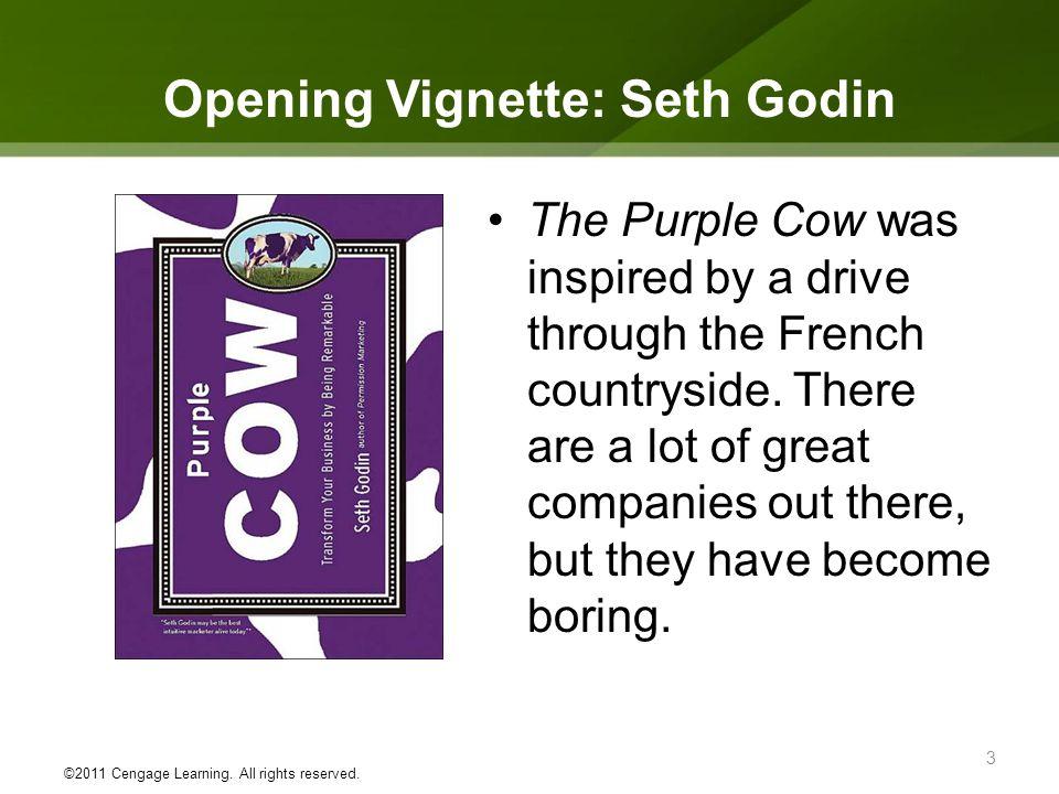 Opening Vignette: Seth Godin