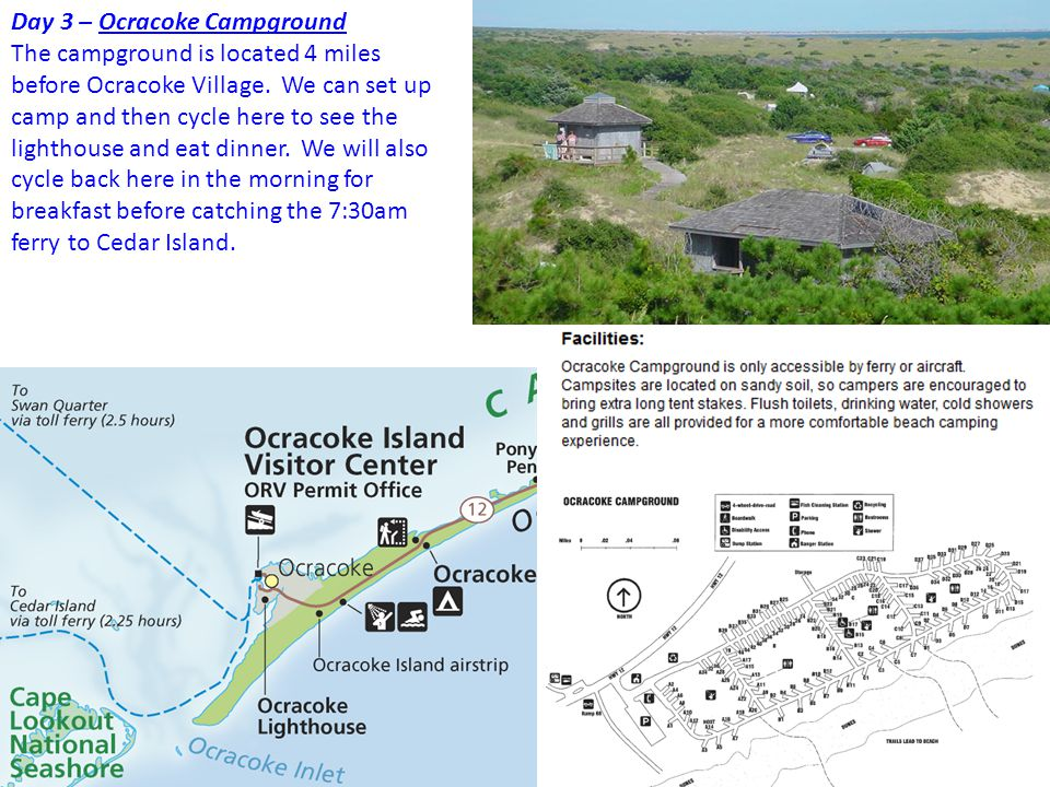 Day 3 – Ocracoke Campground