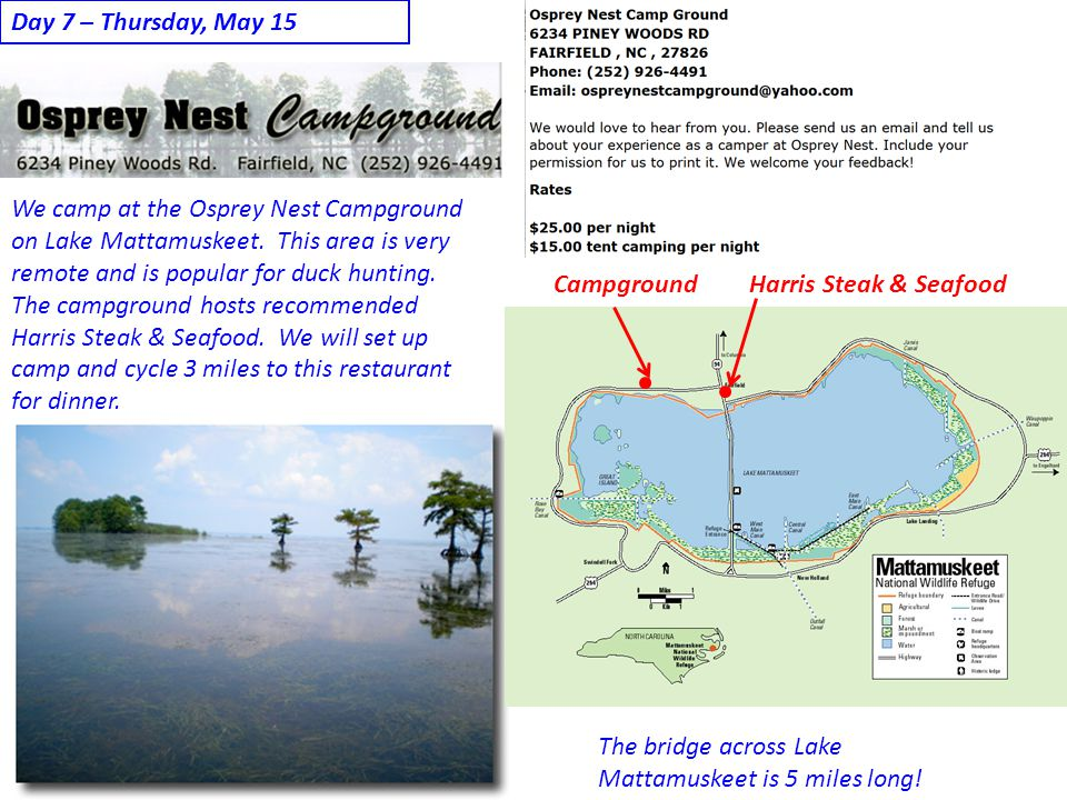 Day 7 – Thursday, May 15