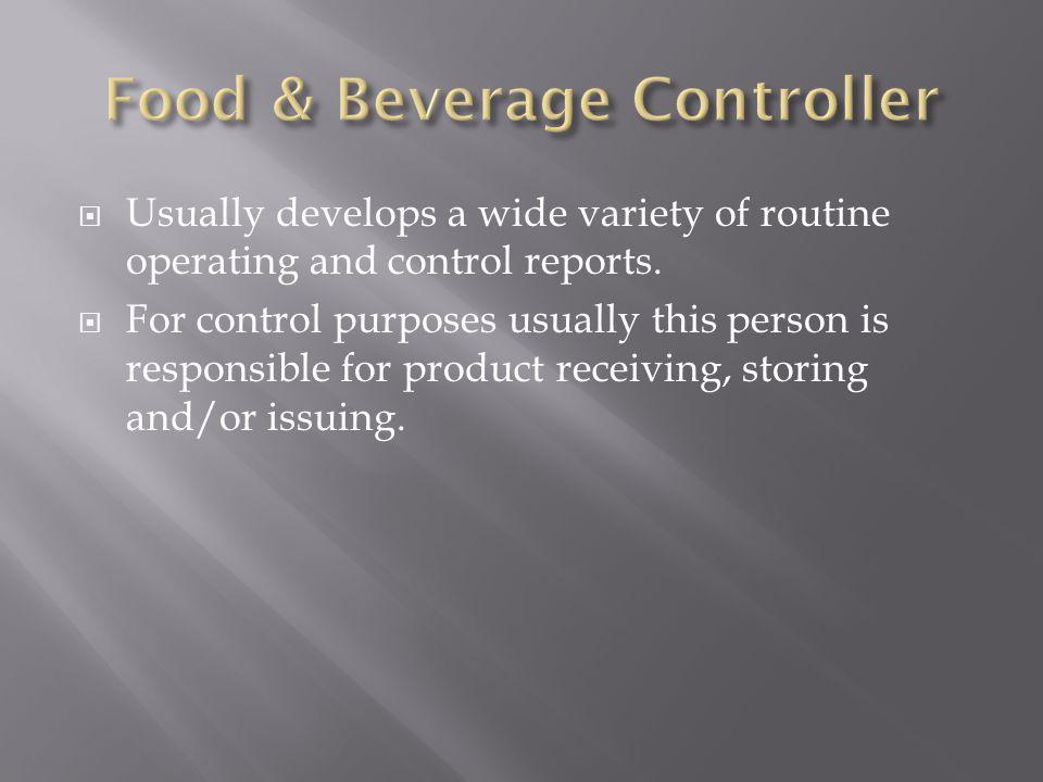Food & Beverage Controller