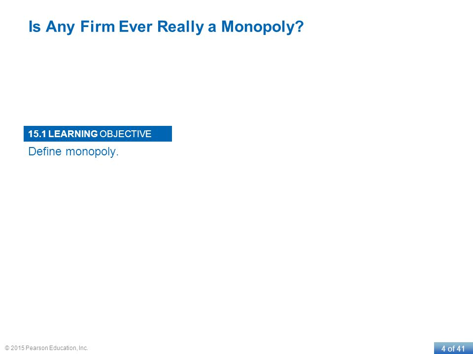 Is Any Firm Ever Really a Monopoly