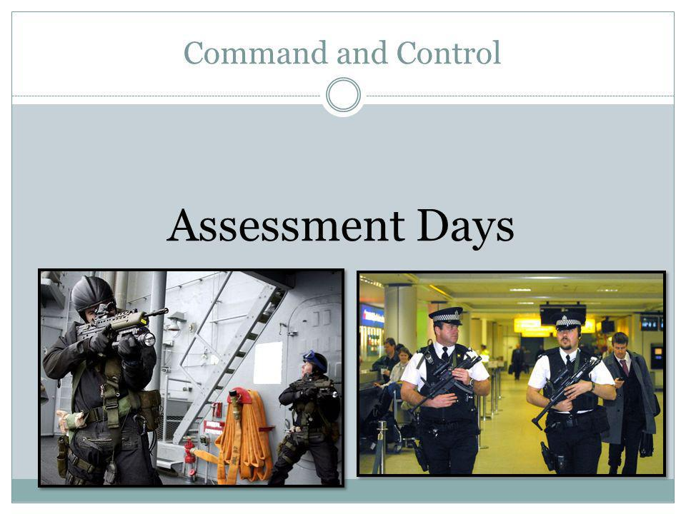 Command and Control Assessment Days