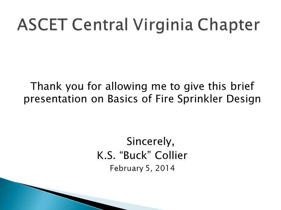 ASCET Central Virginia Chapter