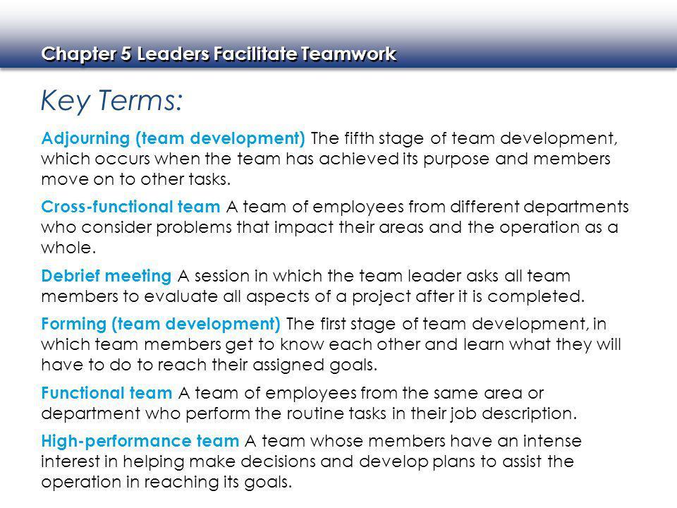 team member job description