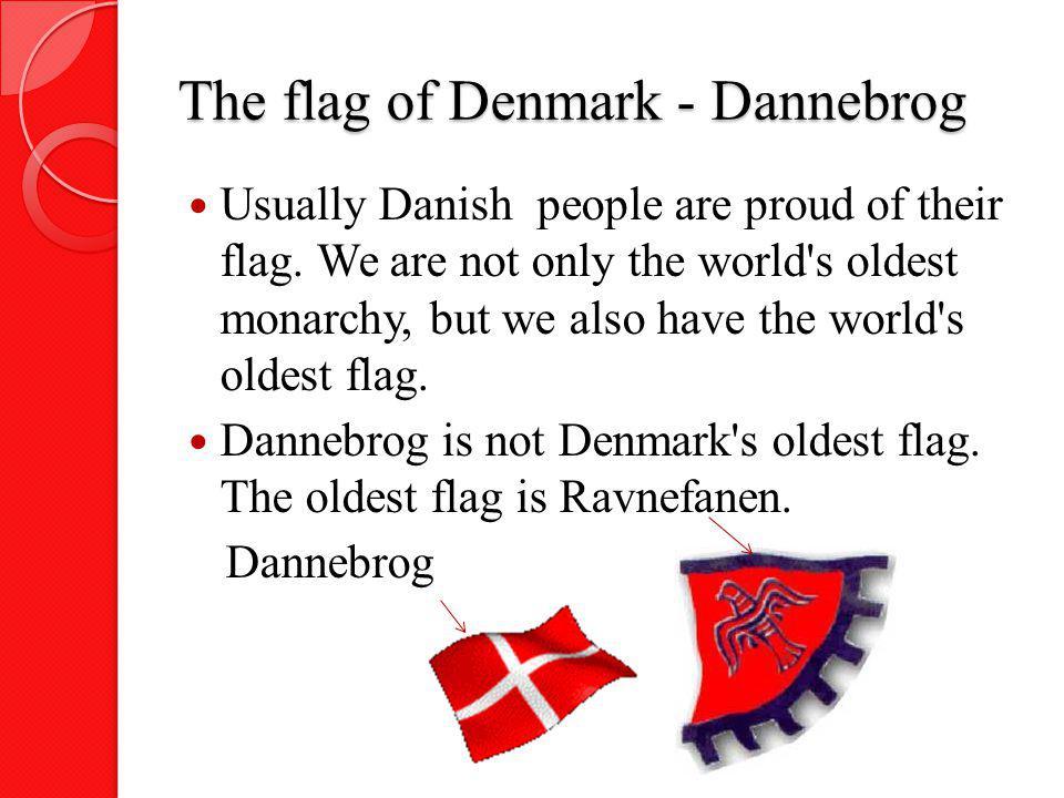 The flag of Denmark - Dannebrog