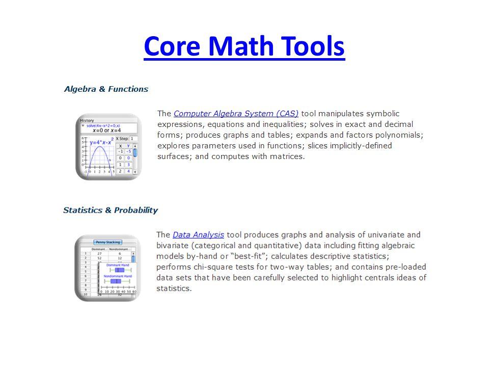 Core Math Tools