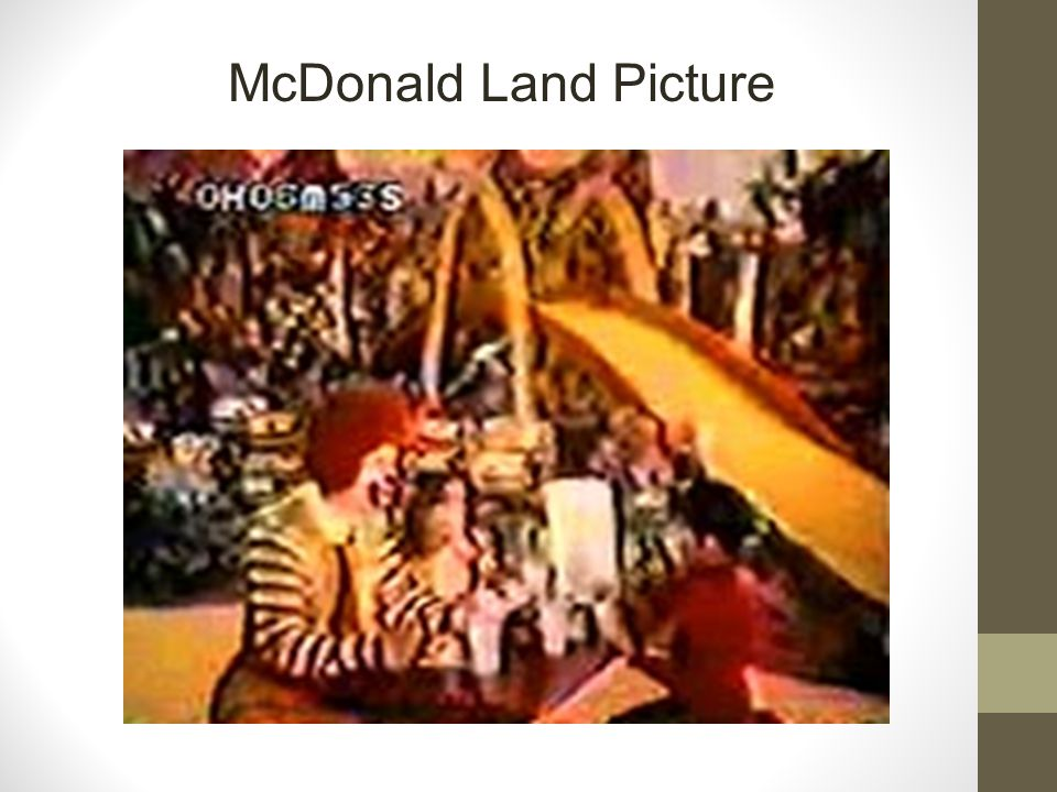 McDonald Land Picture
