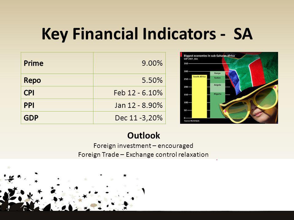 Key Financial Indicators - SA