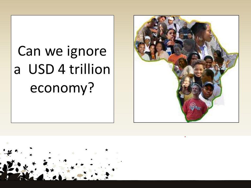 Can we ignore a USD 4 trillion economy