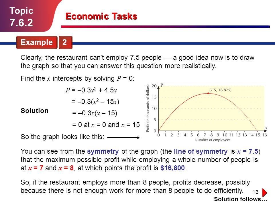 7.6.2 Topic Economic Tasks Example 2