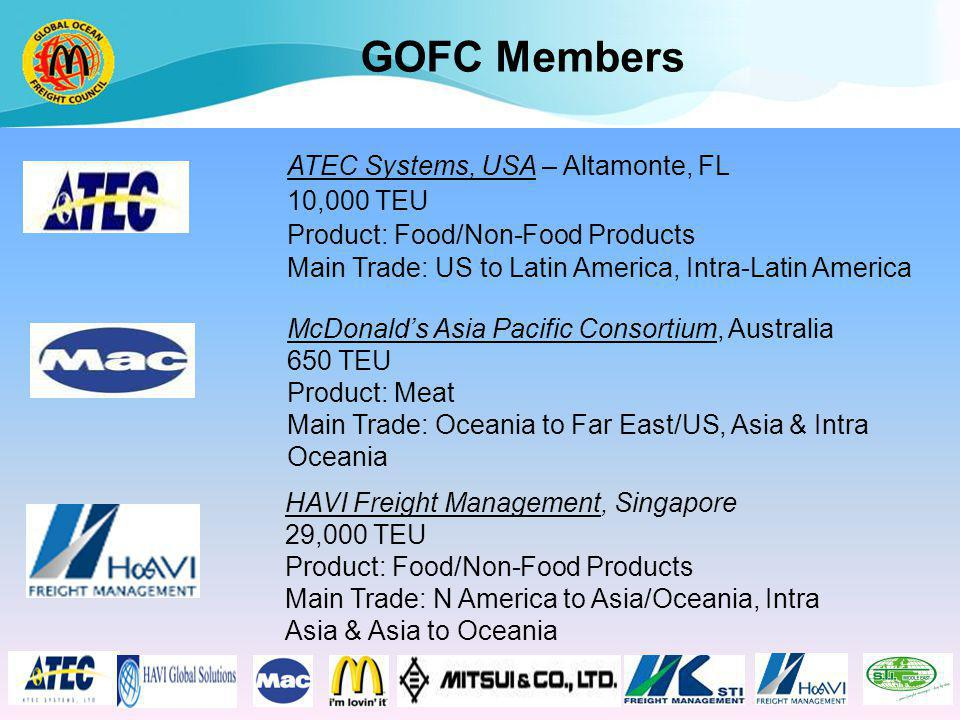 GOFC Logistic Providers