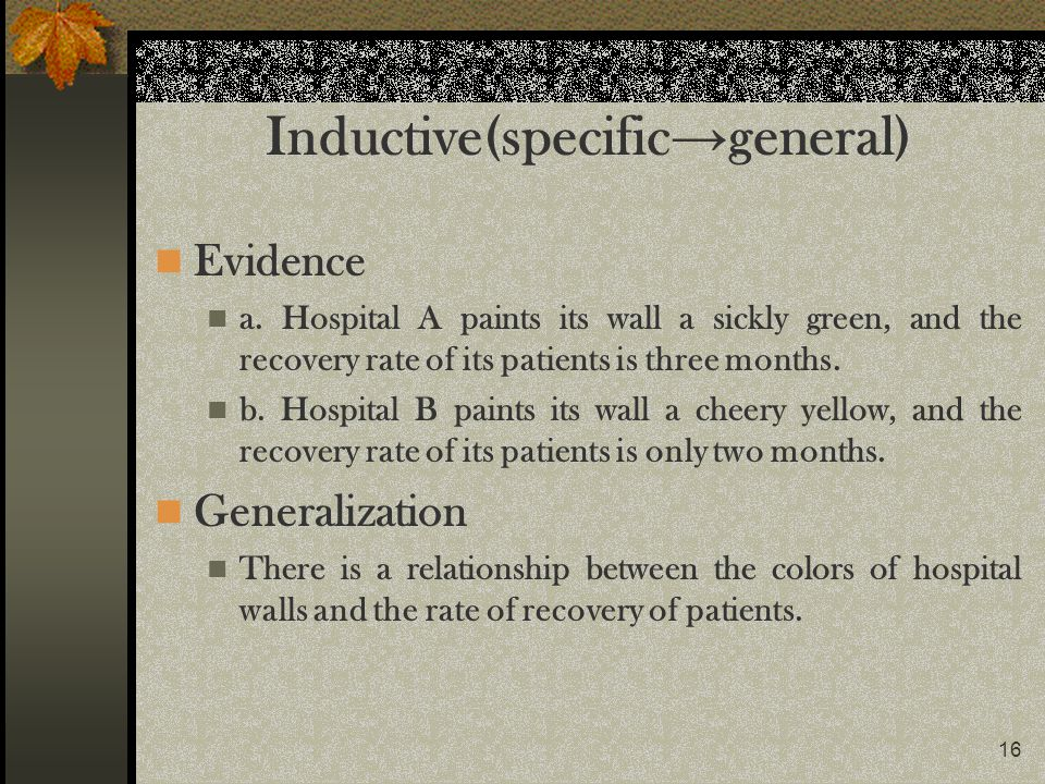 Inductive(specific→general)