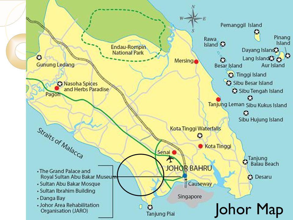 Johor Map 7/23/10