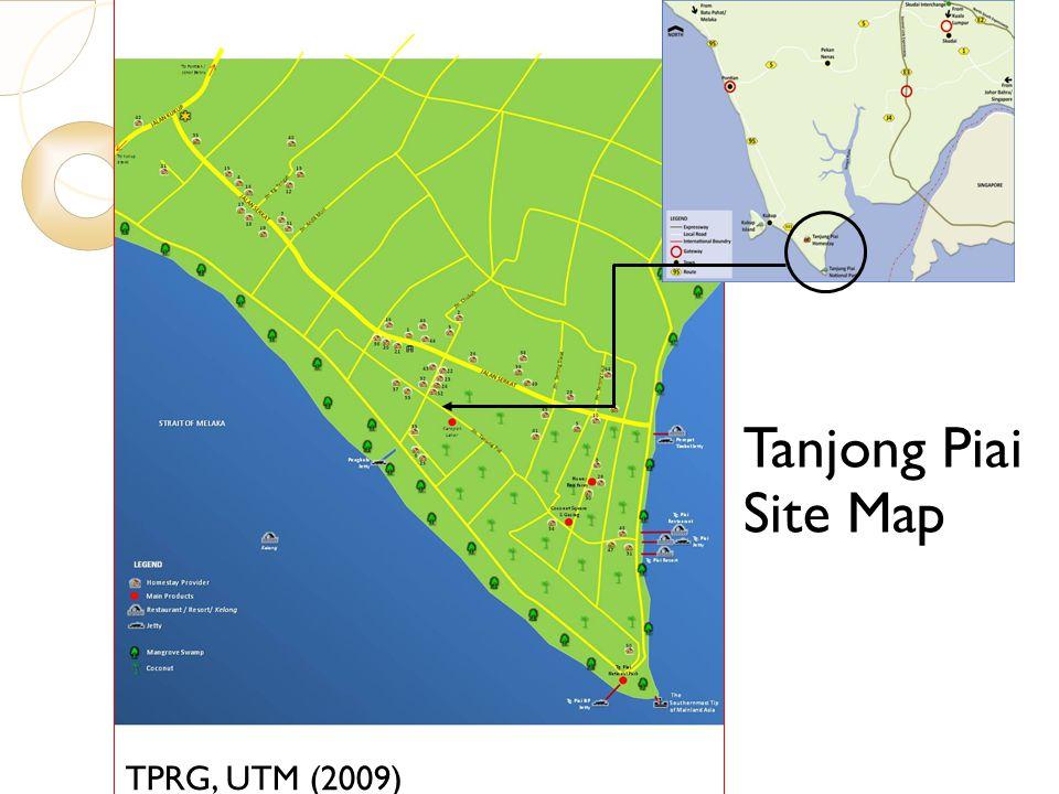 Tanjong Piai Site Map 7/23/10 TPRG, UTM (2009)