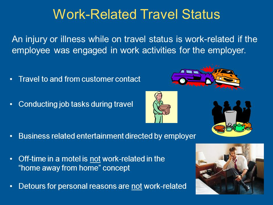 Work-Related Travel Status
