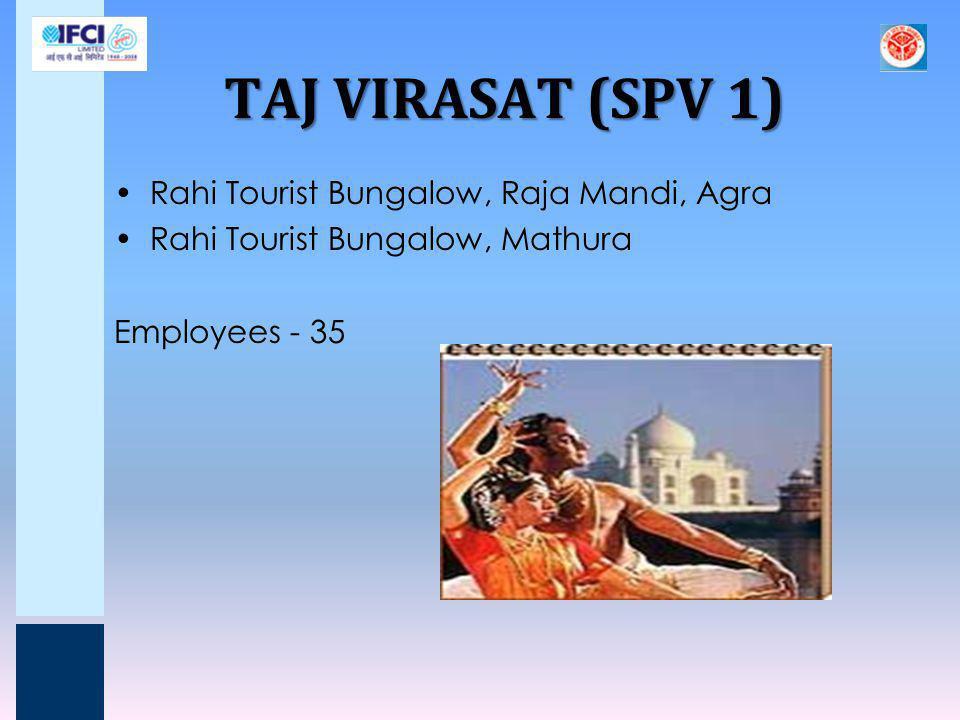 TAJ VIRASAT (SPV 1) Rahi Tourist Bungalow, Raja Mandi, Agra