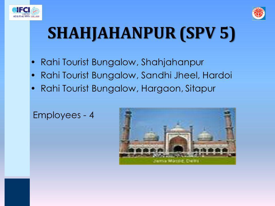 SHAHJAHANPUR (SPV 5) Rahi Tourist Bungalow, Shahjahanpur