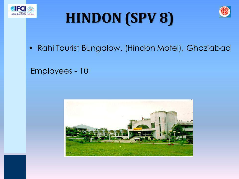 HINDON (SPV 8) Rahi Tourist Bungalow, (Hindon Motel), Ghaziabad