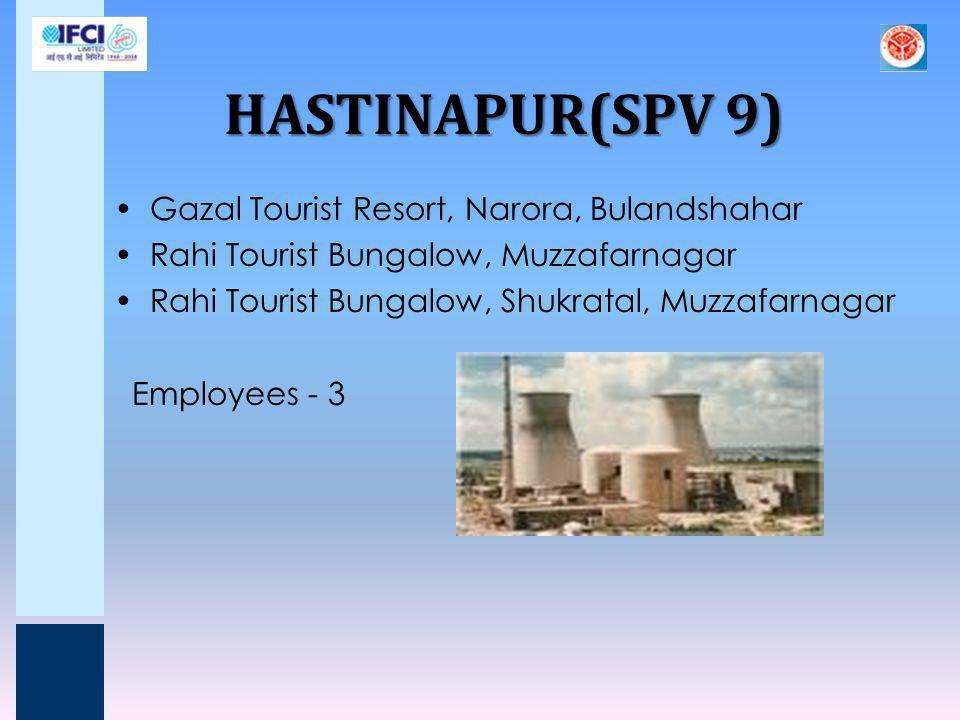 HASTINAPUR(SPV 9) Gazal Tourist Resort, Narora, Bulandshahar