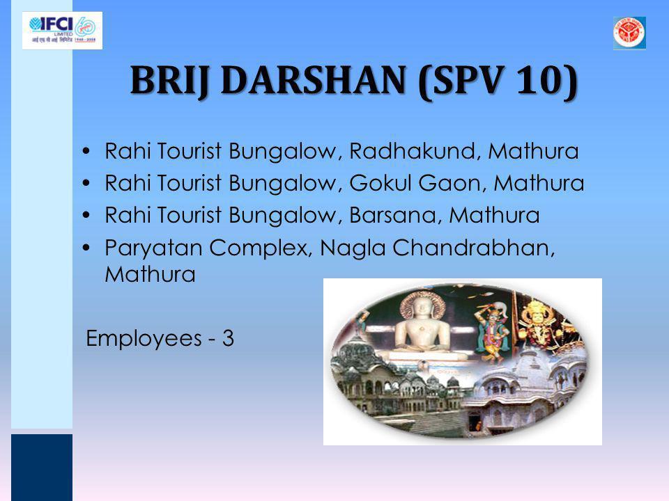 BRIJ DARSHAN (SPV 10) Rahi Tourist Bungalow, Radhakund, Mathura