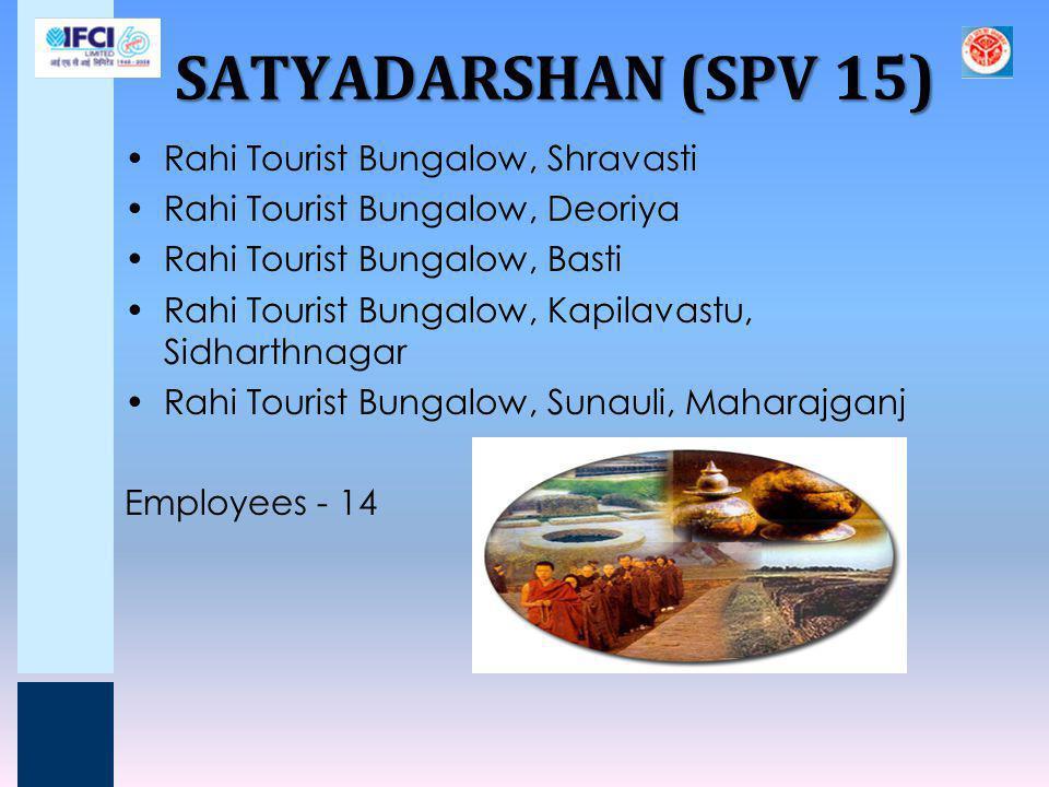 SATYADARSHAN (SPV 15) Rahi Tourist Bungalow, Shravasti