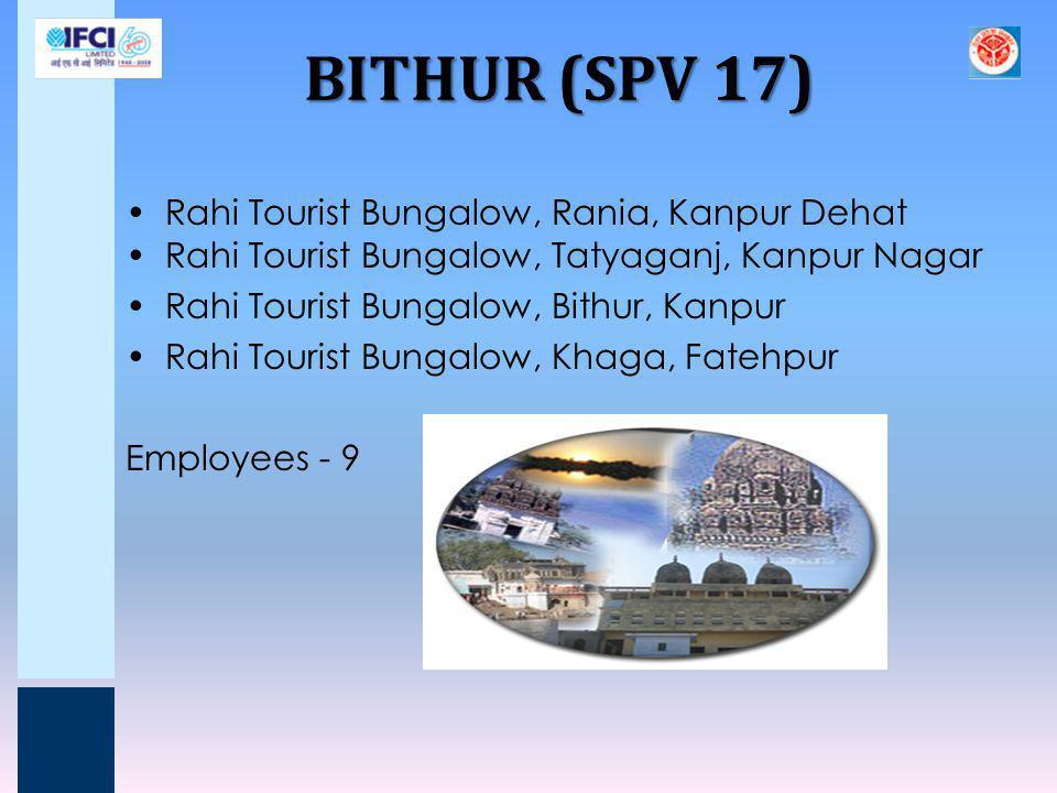 BITHUR (SPV 17) Rahi Tourist Bungalow, Rania, Kanpur Dehat