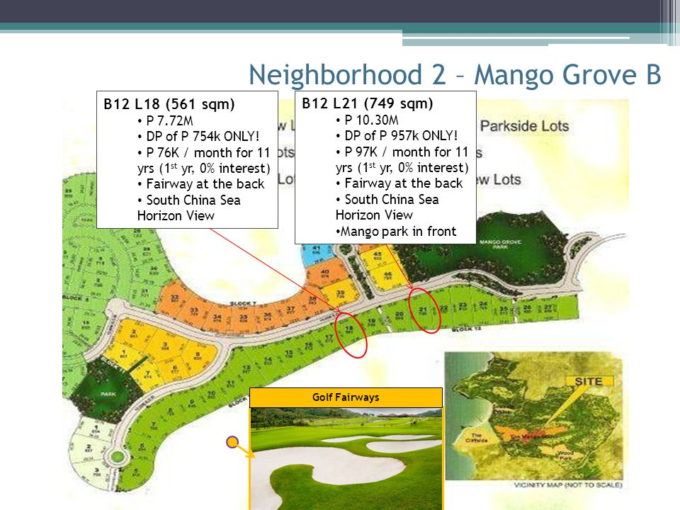 Neighborhood 2 – Mango Grove B