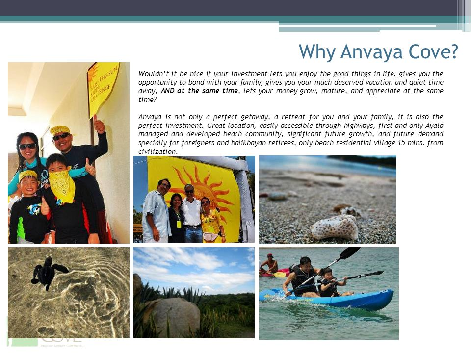 Why Anvaya Cove