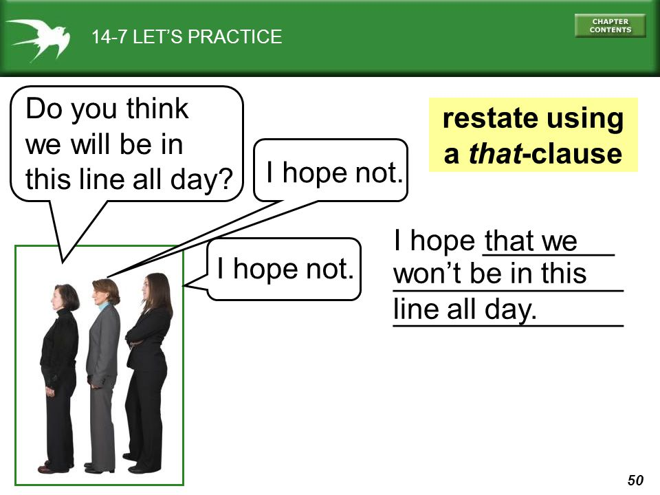 restate using a that-clause