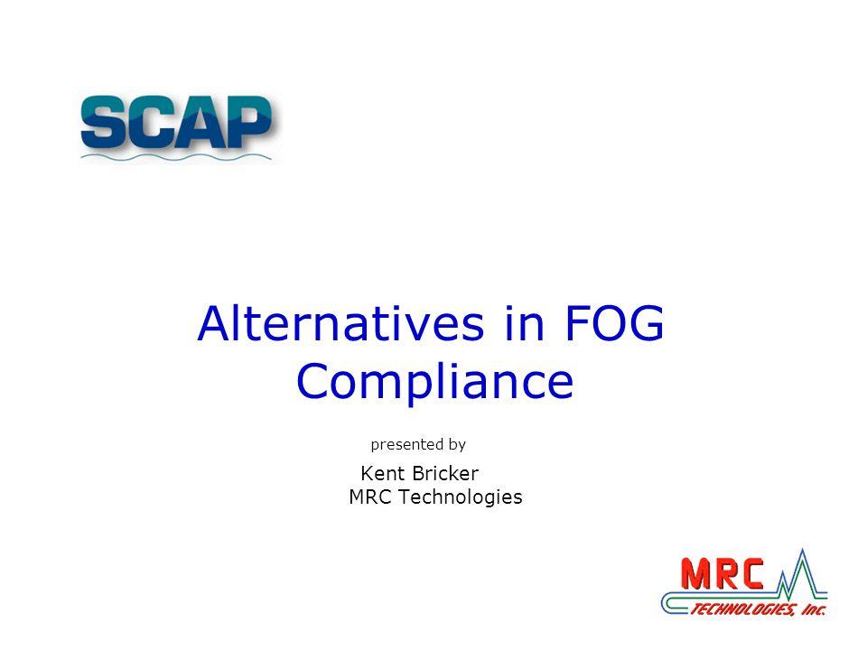 Alternatives in FOG Compliance