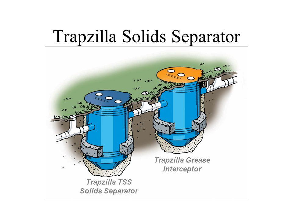 Trapzilla Solids Separator